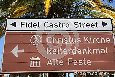 Fidel Castro Street