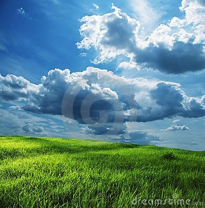 Free Field And Storm Clouds Royalty Free Stock Images - 2779929