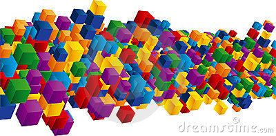 Field of cubes