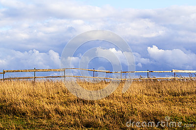 Field with fence