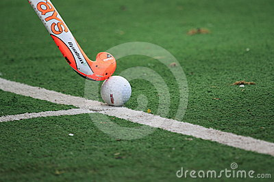 Field hockey Editorial Stock Photo