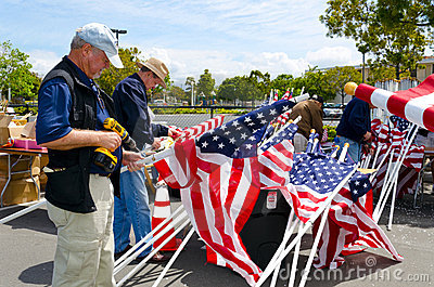 Field of Honor Event Editorial Photography