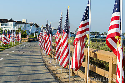 Field of Honor Event Editorial Stock Image