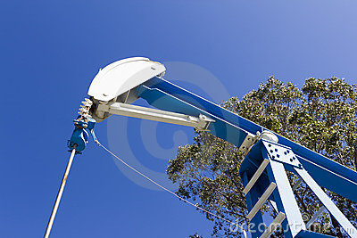 Field Oil Pump Jack