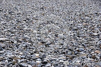 Field of pebbles - Ruegen Firestones