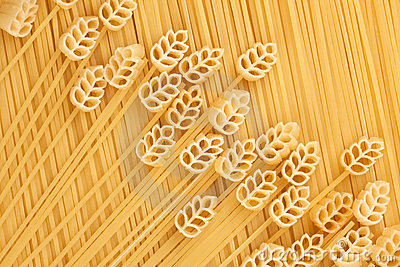 A field of wheat, a conceptual image of pasta