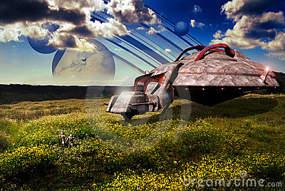 Fields on a far planet