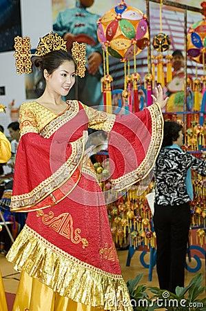 Fiera culturale della cina danzatore da guangxi for Oggetti tradizionali cinesi