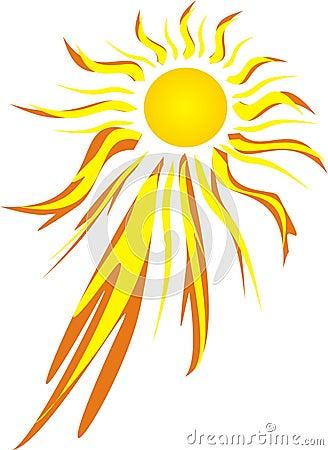 Free Fierce Hot Sun Stock Photography - 450972