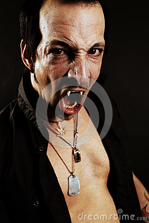 Fierce vampire