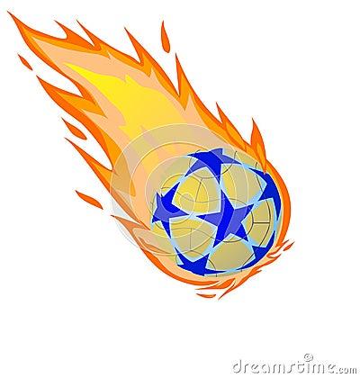 Fiery ball