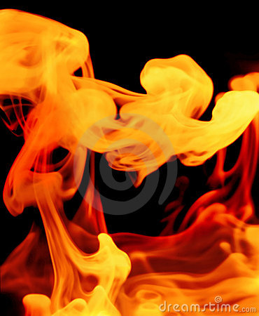 Fiery gaseous forms