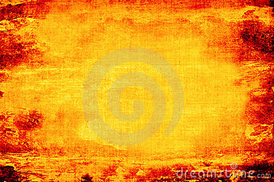 Fiery Grunge Background Stock Photo