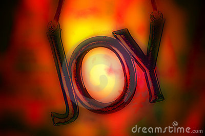 Fiery joy ornament