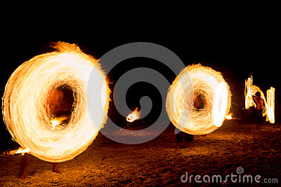 Fiery Motion Fire Show