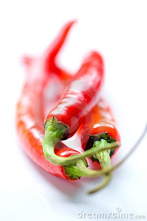 Free Fiery Red Hot Chillis. Royalty Free Stock Photography - 8212577