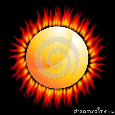 Fiery Sun