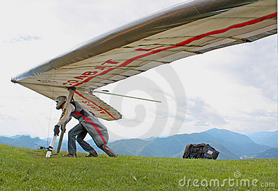 Fiesh Open-2011 hang gliding competitions Editorial Image