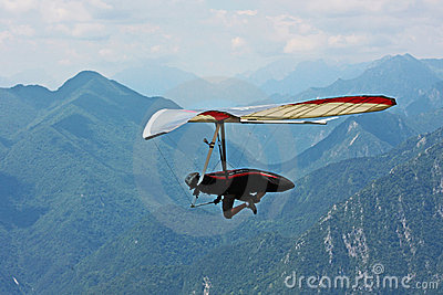 Fiesh Open-2011 hang gliding competitions Editorial Stock Photo