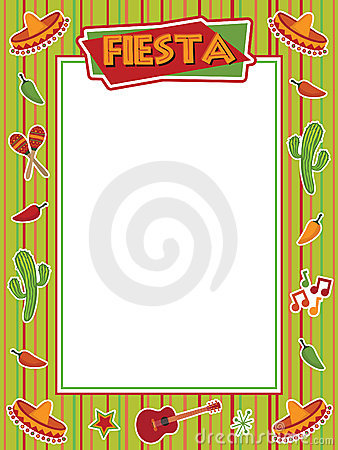 Free Fiesta Frame Royalty Free Stock Photo - 13127225