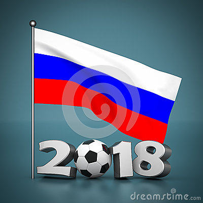 Free Fifa World Cup 2018 In Russia Royalty Free Stock Photography - 46231367