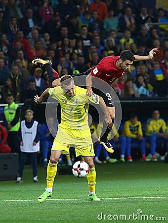 Free FIFA World Cup 2018 Ukraine Vs Turkey In Kharkiv, Ukraine Stock Image - 99152981