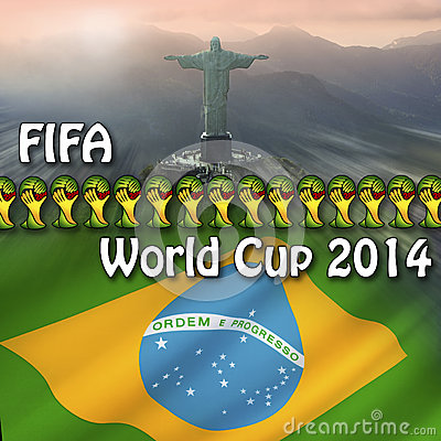 FIFA World Cup 2014 - Brazil Editorial Stock Image