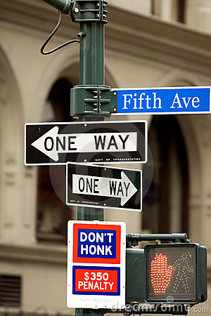 Free Fifth Avenue Stock Image - 4939001