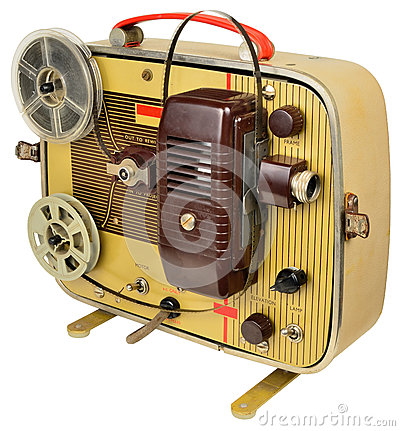 Fifties home cinema projector