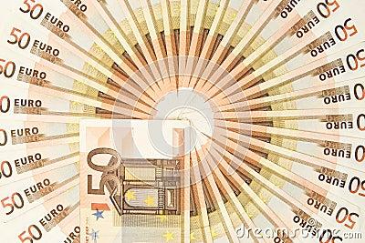 Fifty Euro Money Circle