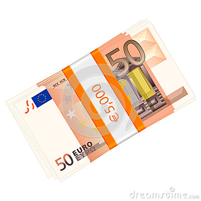Fifty euro pack