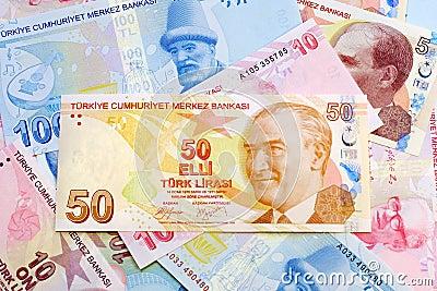 Fifty Turkish Lira