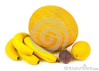 Fig bananas ripe tasty