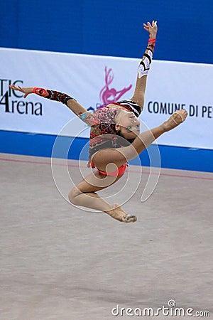 FIG Rhythmic Gymnastic WORLD CUP PESARO 2009 Editorial Photography