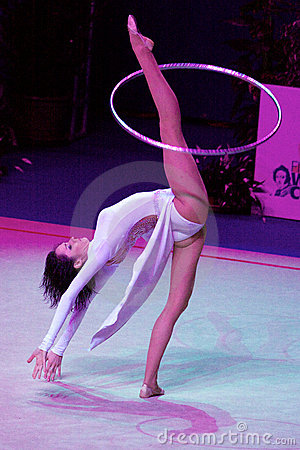 FIG Rhythmic Gymnastic WORLD CUP PESARO 2009 Editorial Image