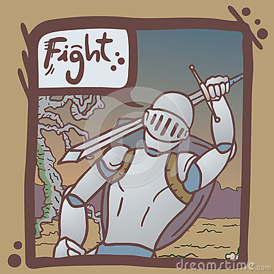 Fight army comic