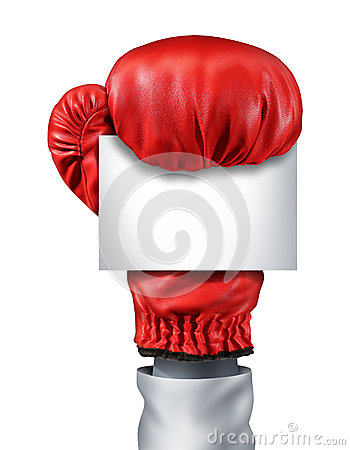Free Fight Blank Sign Royalty Free Stock Image - 27661336