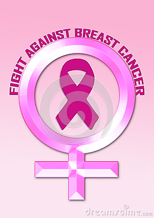 Free Fight Breast Cancer Awareness Stock Image - 84030681