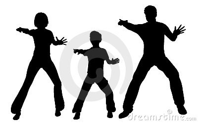 Fight family vector