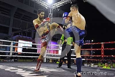 Muaythai World Championships Editorial Stock Image