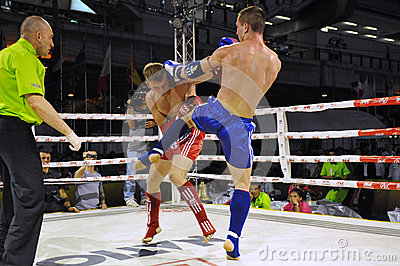Muaythai World Championships Editorial Photo