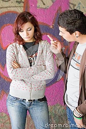 Free Fighting Couple Stock Photos - 2368283