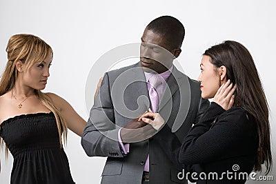 Husband And Wife Share A Man
