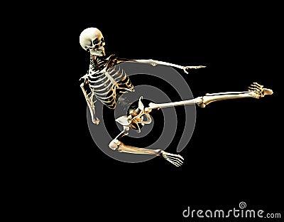Fighting Skeleton 2