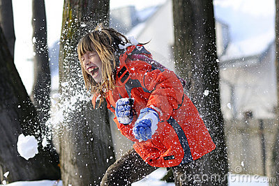 Fighting with snow