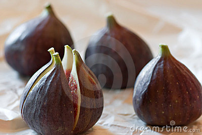 Figs Composition Royalty Free Stock Image - Image: 14815506