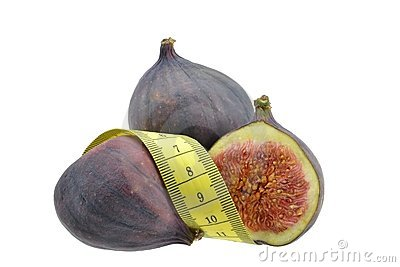 Figs with measuring tape