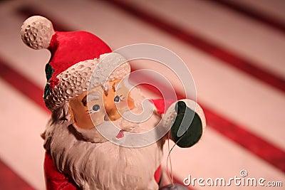Figura da miniatura de Papai Noel
