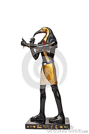 Figura egipcia de dios - Ibis