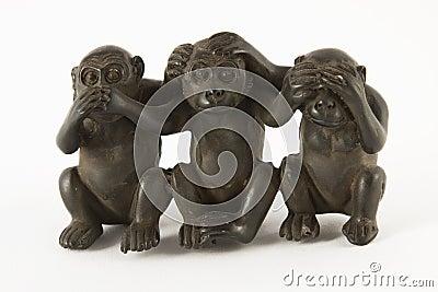 Figuras Do Macaco Fotos De Stock
